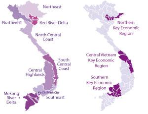Vietnams Regions And Key Economic Zones Vietnam Briefing News - Economic zones southeast asia map