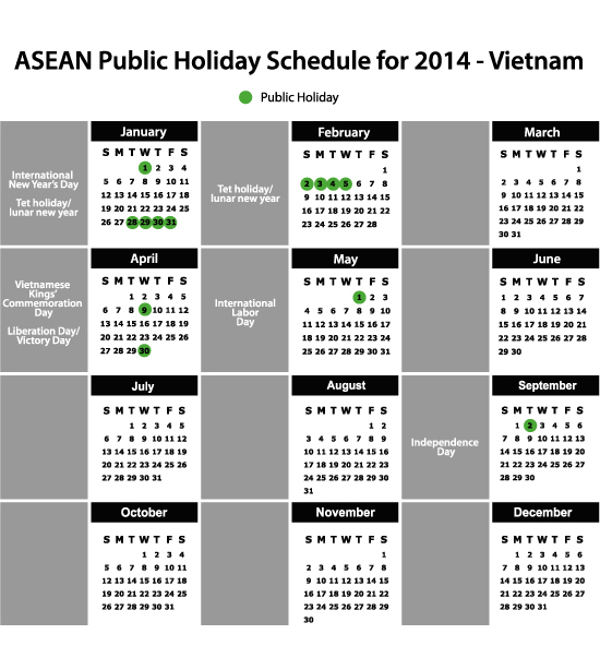A Guide to Vietnam's Holiday Schedule - Vietnam Briefing News