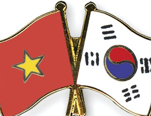 korea vietnam flags